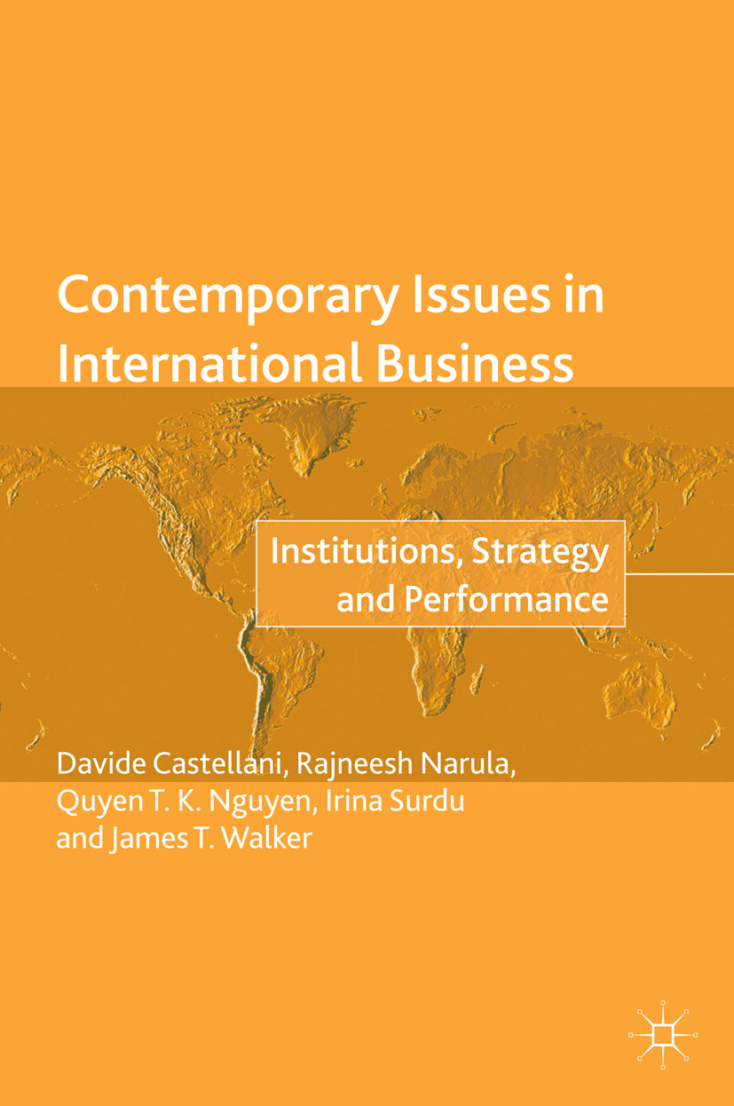 Castellani, Davide - Contemporary Issues in International Business, ebook