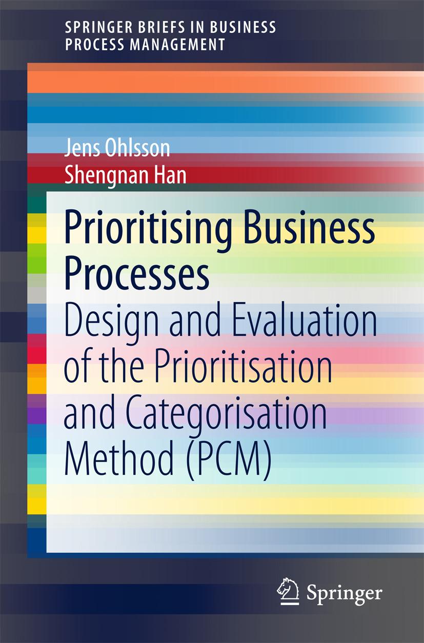 Han, Shengnan - Prioritising Business Processes, ebook