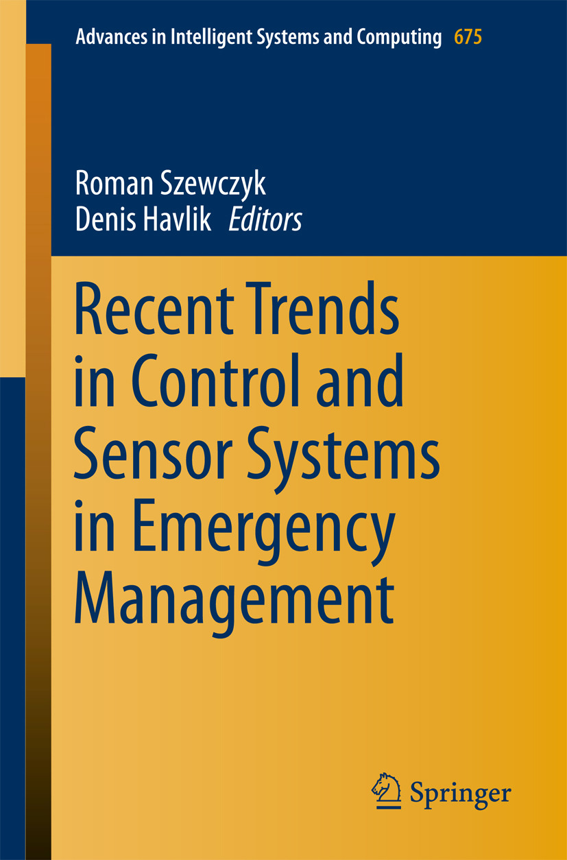 Havlik, Denis - Recent Trends in Control and Sensor Systems in Emergency Management, e-bok