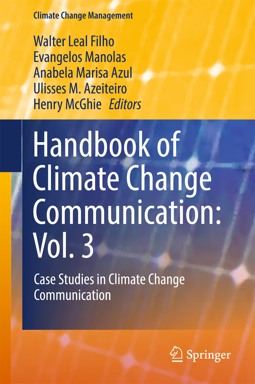 Azeiteiro, Ulisses M. - Handbook of Climate Change Communication: Vol. 3, e-bok