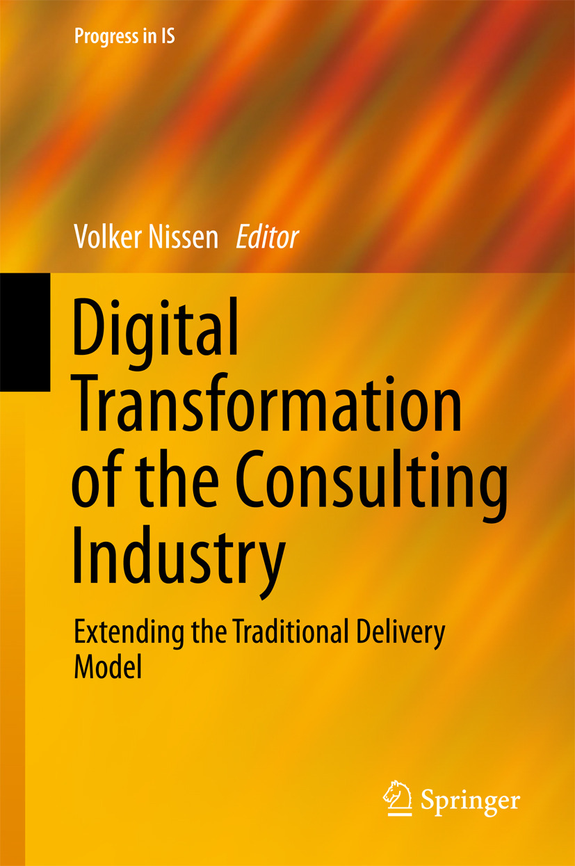 Nissen, Volker - Digital Transformation of the Consulting Industry, ebook