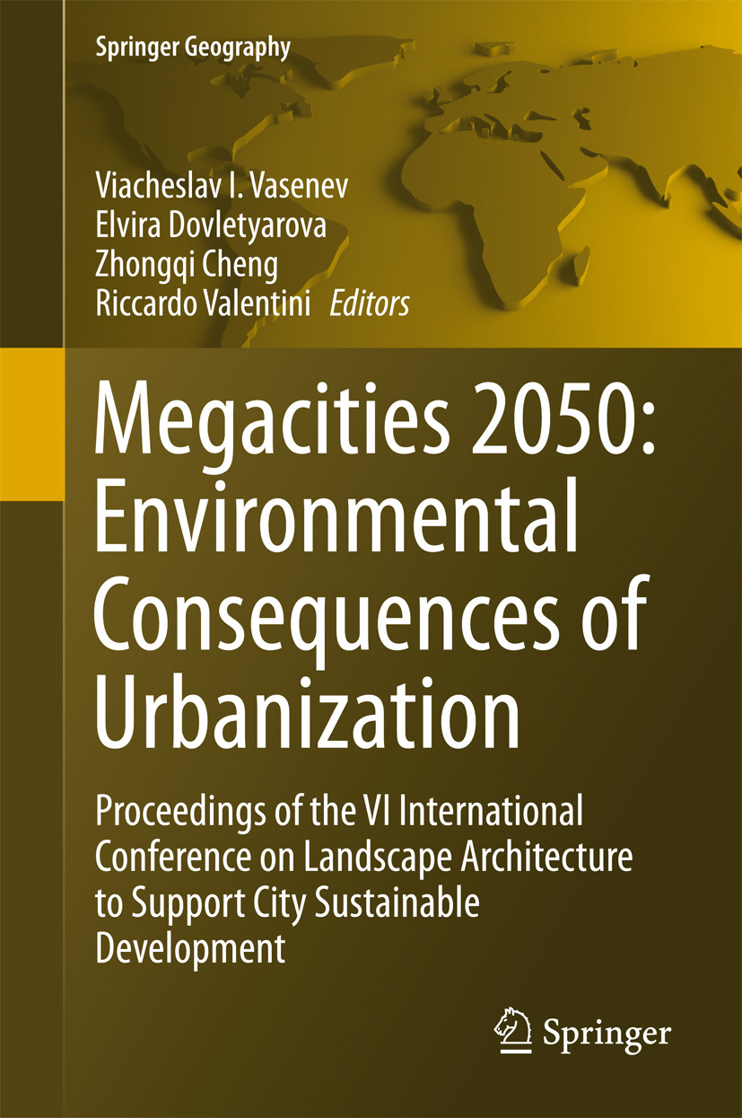 Chen, Zhongqi - Megacities 2050: Environmental Consequences of Urbanization, ebook