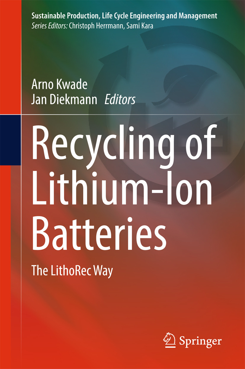 Diekmann, Jan - Recycling of Lithium-Ion Batteries, ebook