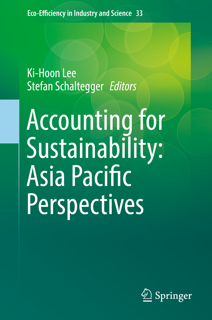 Lee, Ki-Hoon - Accounting for Sustainability: Asia Pacific Perspectives, ebook