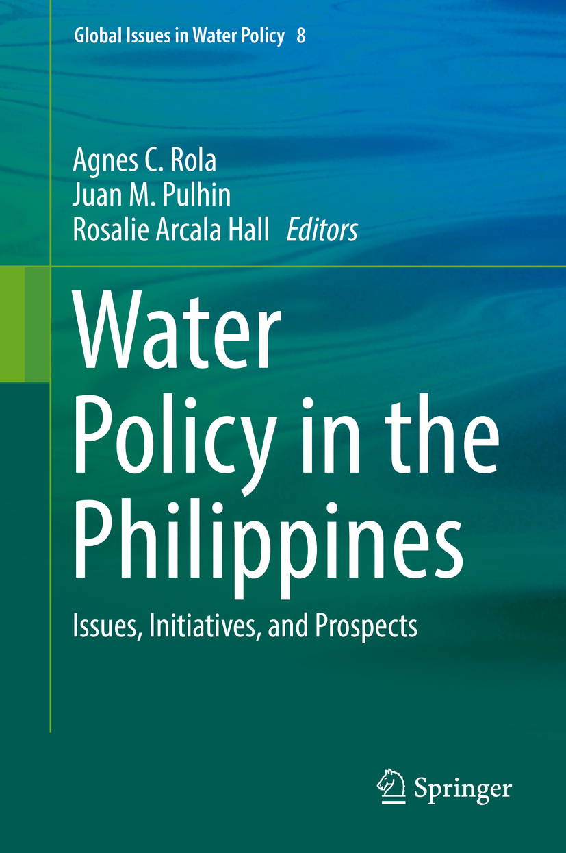 Hall, Rosalie Arcala - Water Policy in the Philippines, ebook