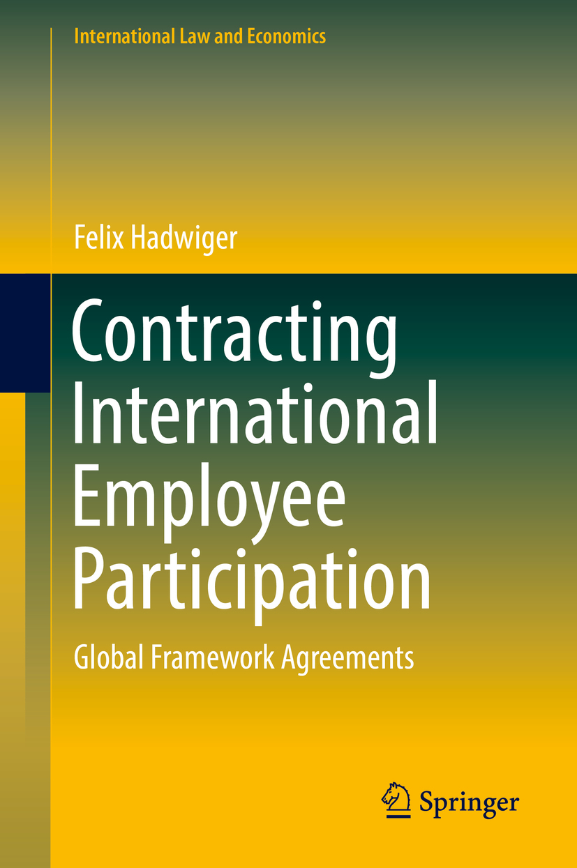 Hadwiger, Felix - Contracting International Employee Participation, ebook