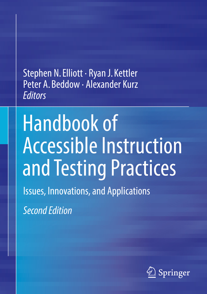 Beddow, Peter A. - Handbook of Accessible Instruction and Testing Practices, ebook