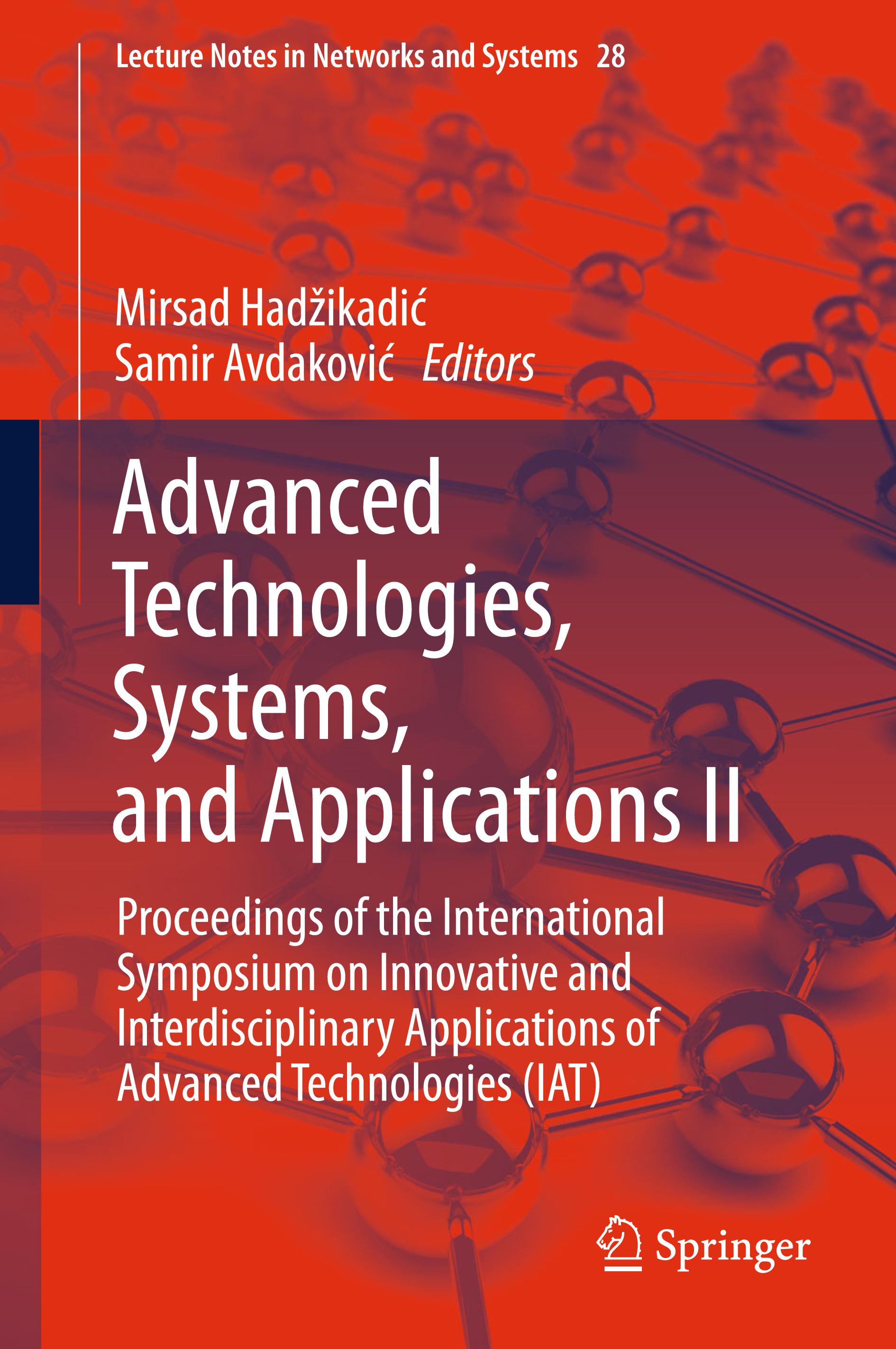 Avdaković, Samir - Advanced Technologies, Systems, and Applications II, e-bok