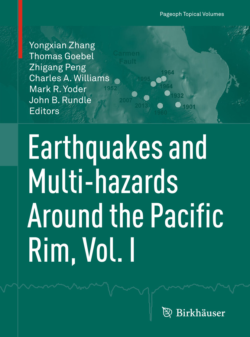 Goebel, Thomas - Earthquakes and Multi-hazards Around the Pacific Rim, Vol. I, ebook