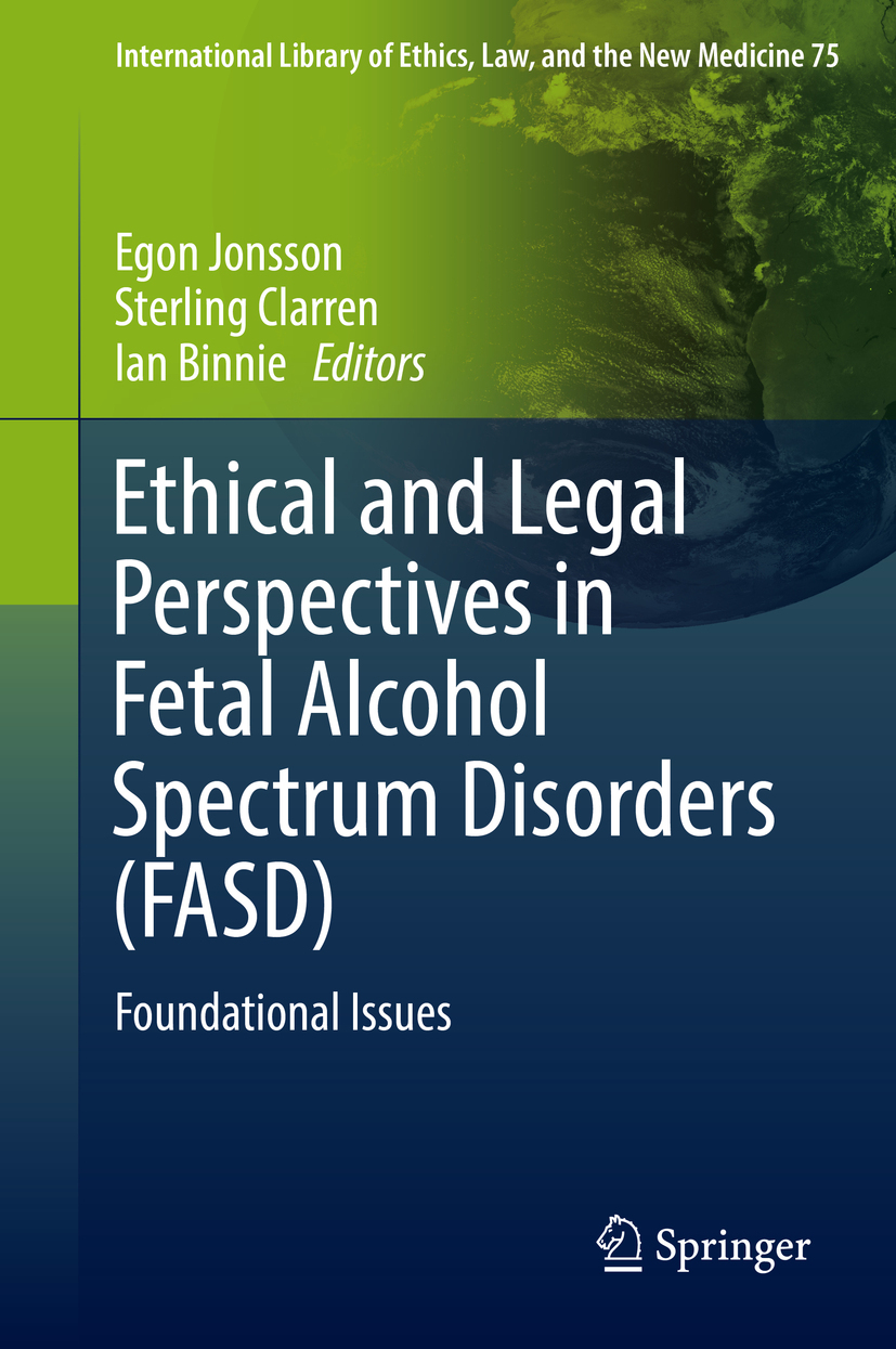 Binnie, Ian - Ethical and Legal Perspectives in Fetal Alcohol Spectrum Disorders (FASD), ebook