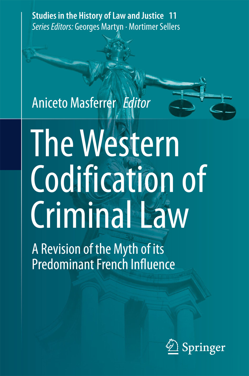 Masferrer, Aniceto - The Western Codification of Criminal Law, ebook