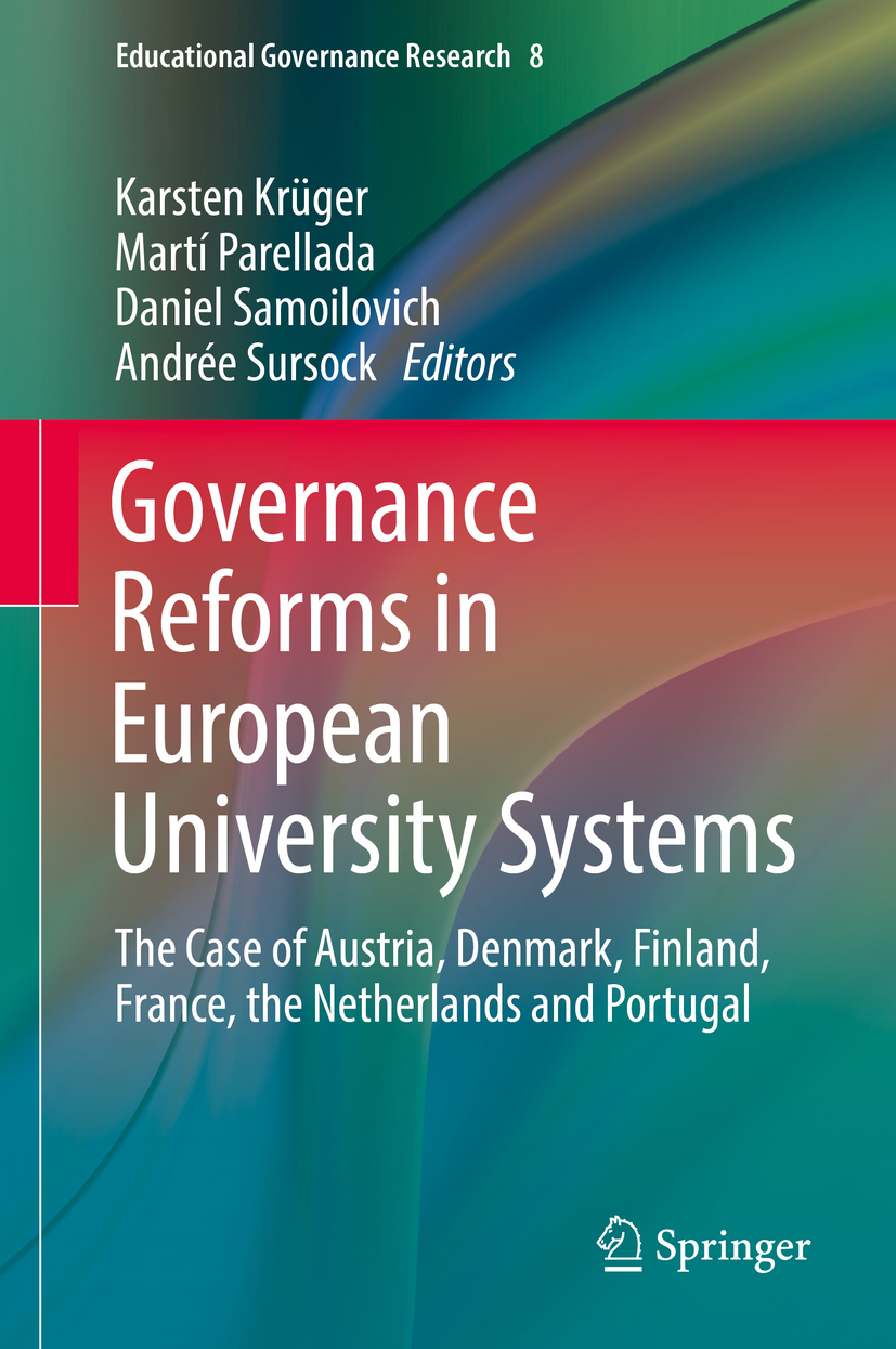 Krüger, Karsten - Governance Reforms in European University Systems, ebook