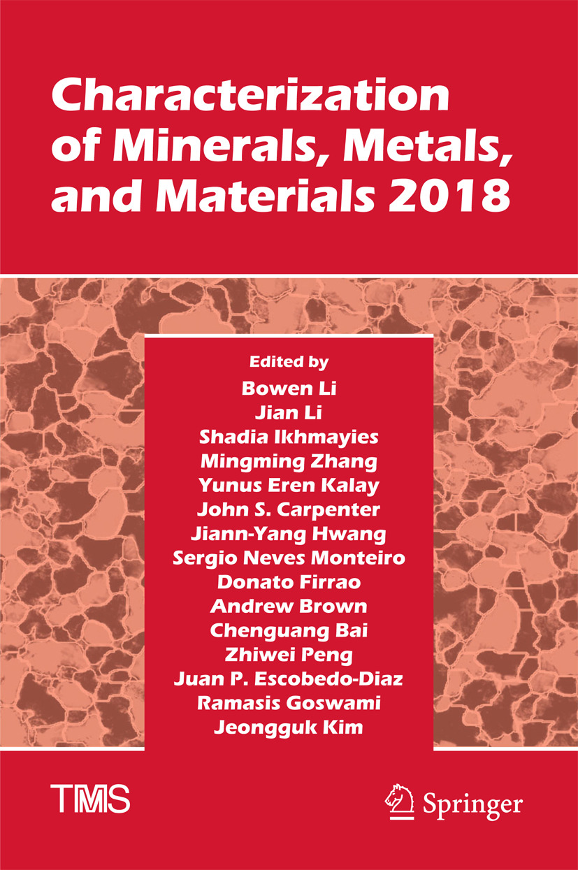 Bai, Chenguang - Characterization of Minerals, Metals, and Materials 2018, e-kirja