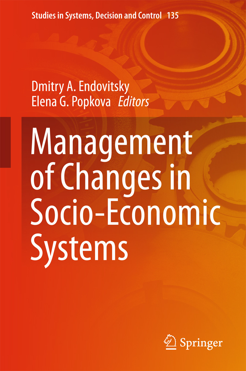 Endovitsky, Dmitry A. - Management of Changes in Socio-Economic Systems, ebook