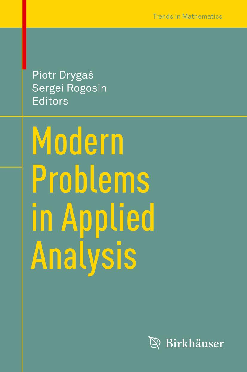 Drygaś, Piotr - Modern Problems in Applied Analysis, ebook