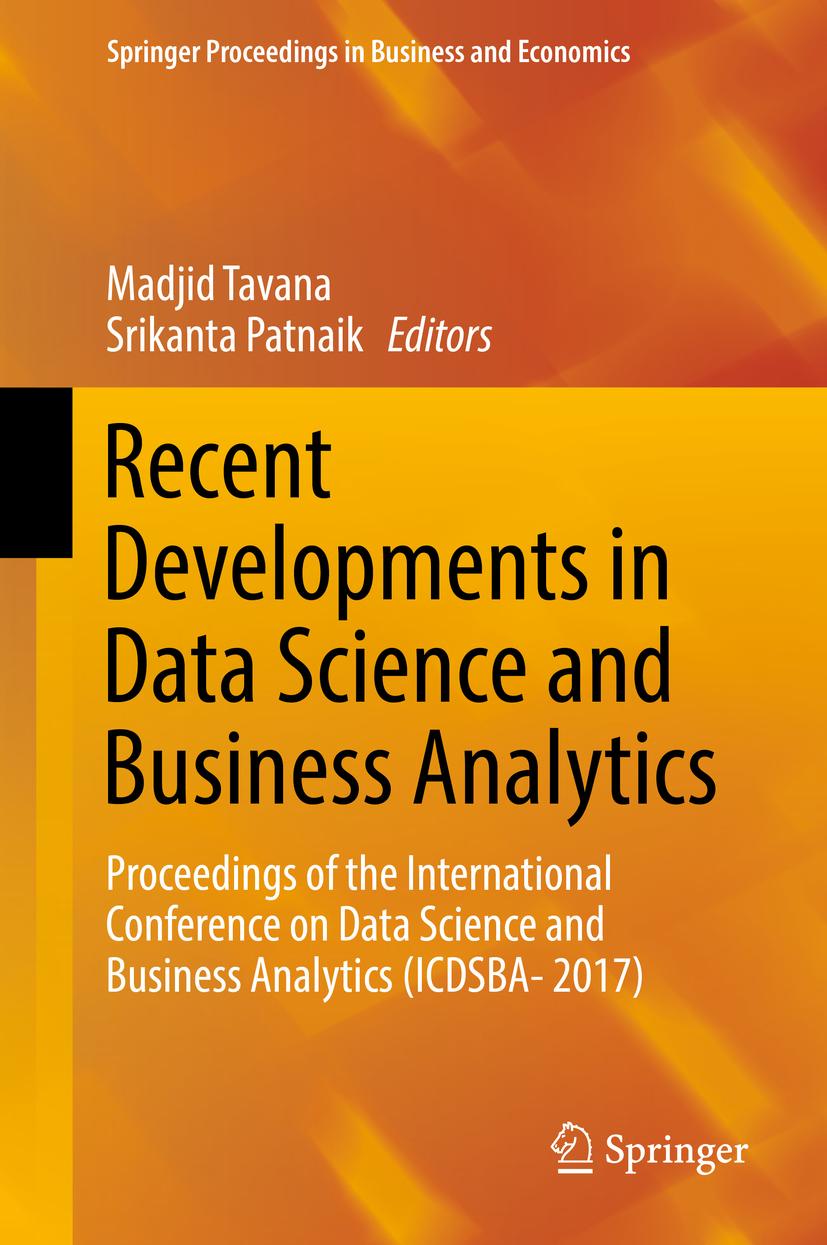 Patnaik, Srikanta - Recent Developments in Data Science and Business Analytics, e-bok