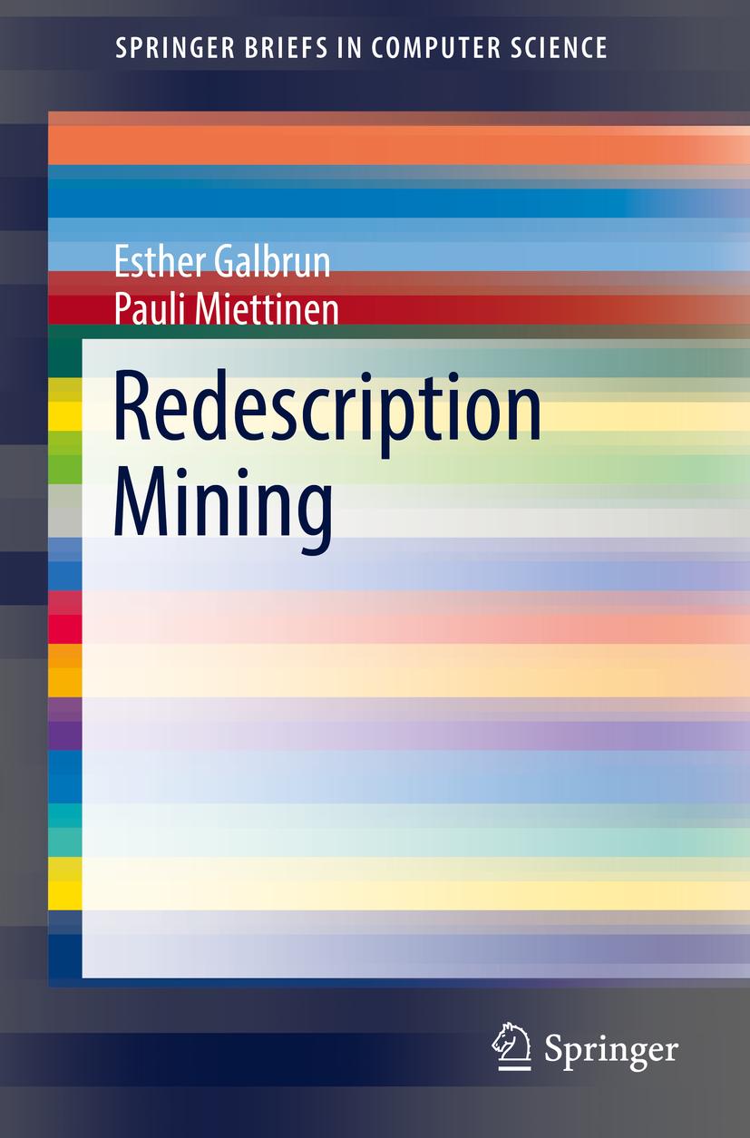 Galbrun, Esther - Redescription Mining, ebook
