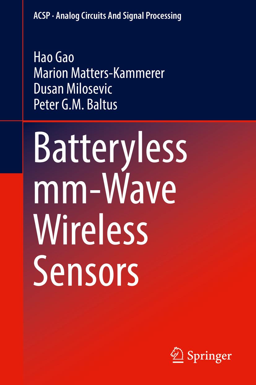 Baltus, Peter G.M. - Batteryless mm-Wave Wireless Sensors, ebook