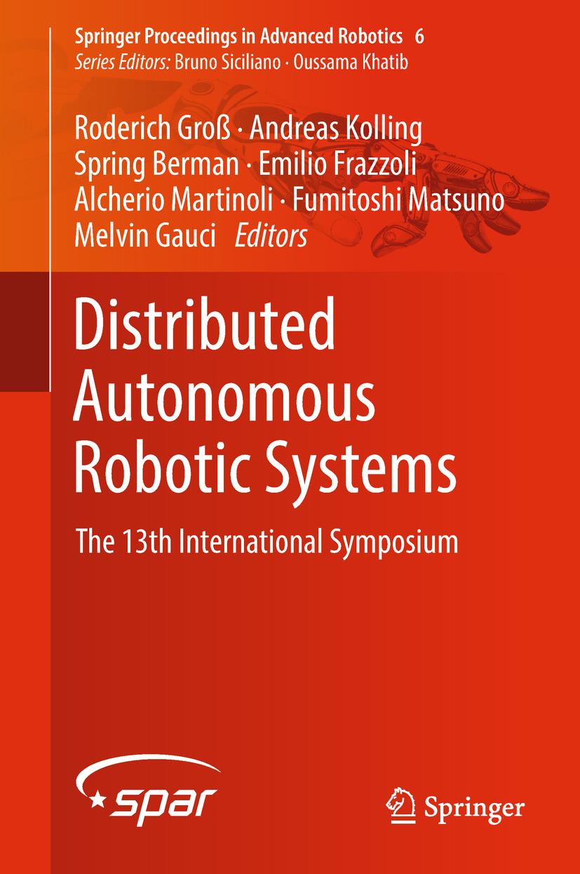 Berman, Spring - Distributed Autonomous Robotic Systems, ebook