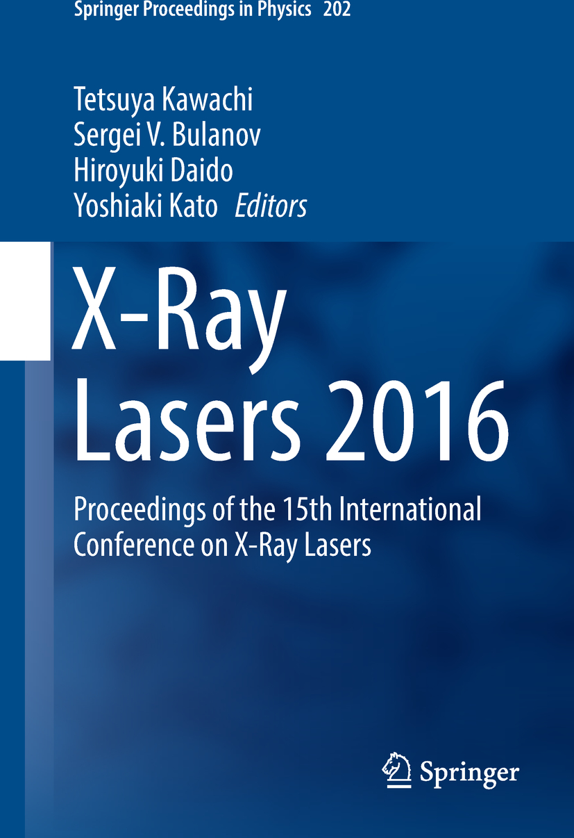 Bulanov, Sergei V. - X-Ray Lasers 2016, ebook