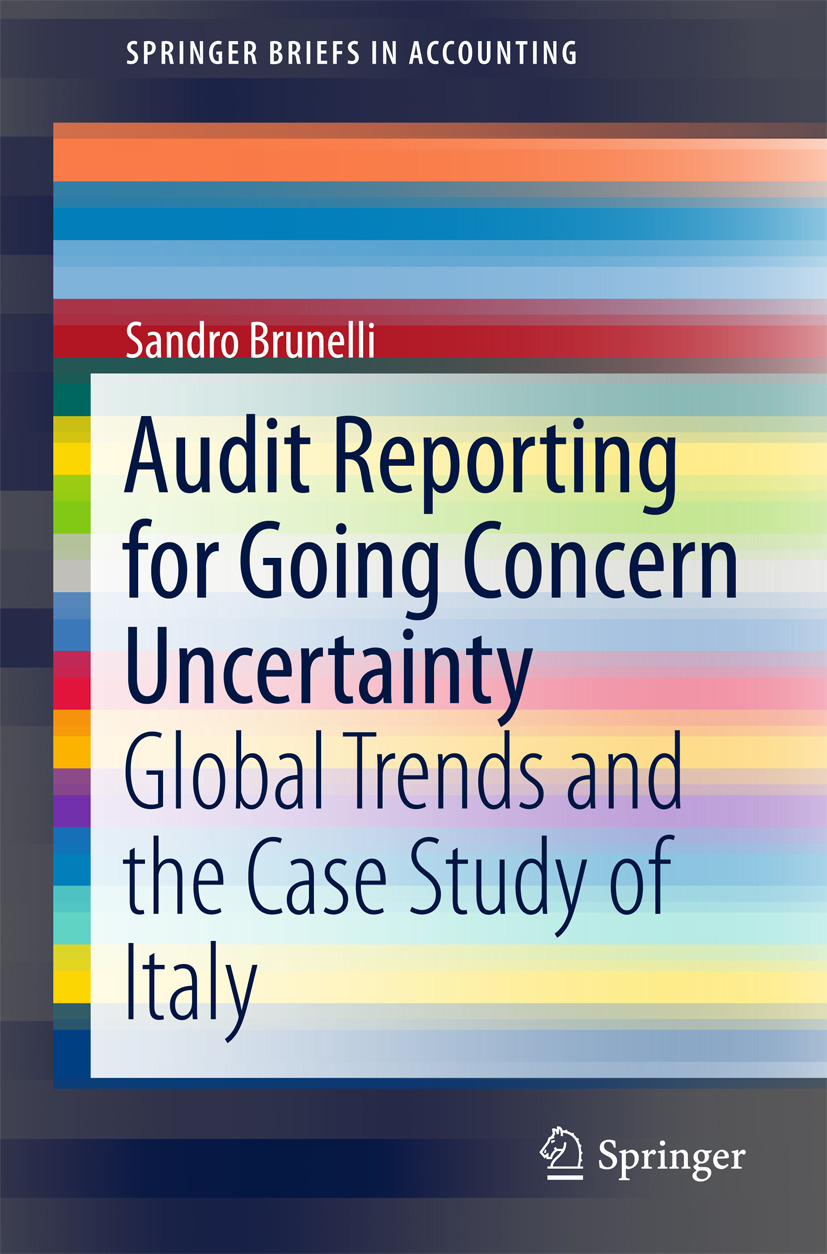 Brunelli, Sandro - Audit Reporting for Going Concern Uncertainty, ebook