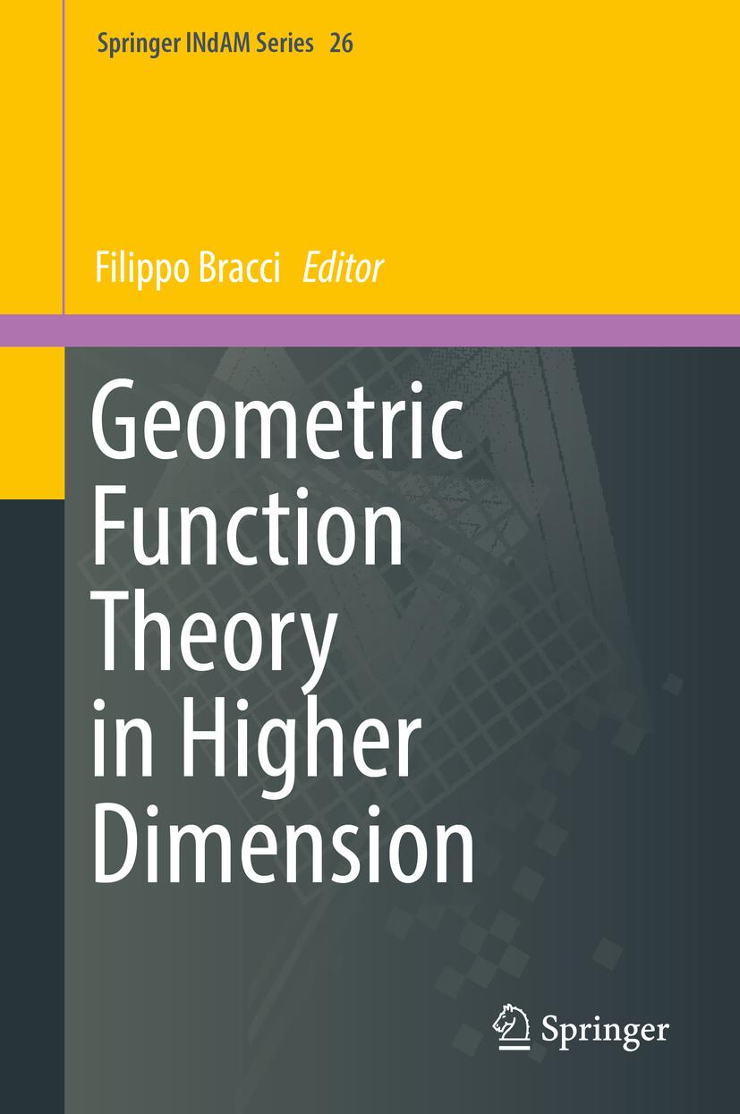 Bracci, Filippo - Geometric Function Theory in Higher Dimension, ebook