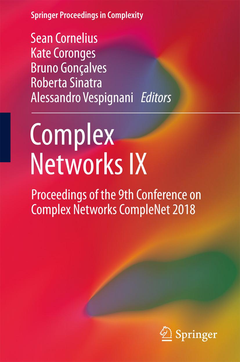 Cornelius, Sean - Complex Networks IX, ebook