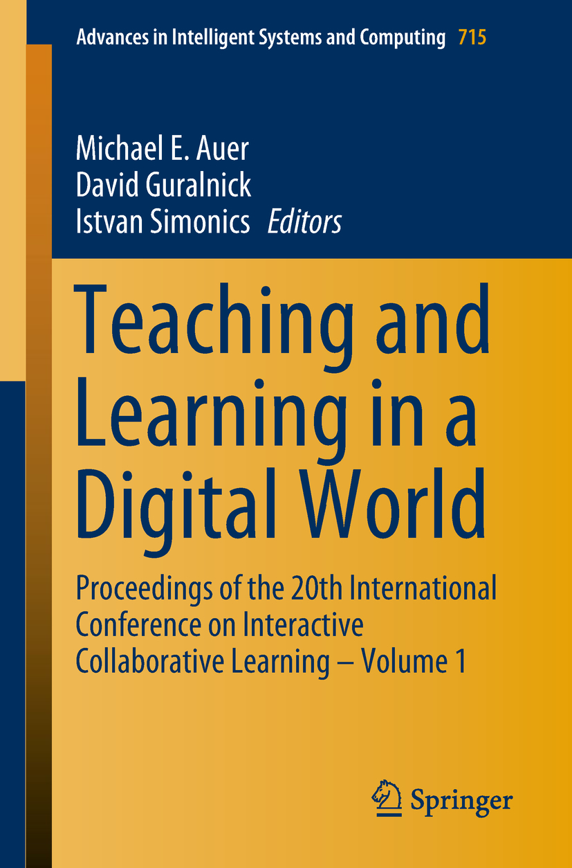 Auer, Michael E. - Teaching and Learning in a Digital World, ebook
