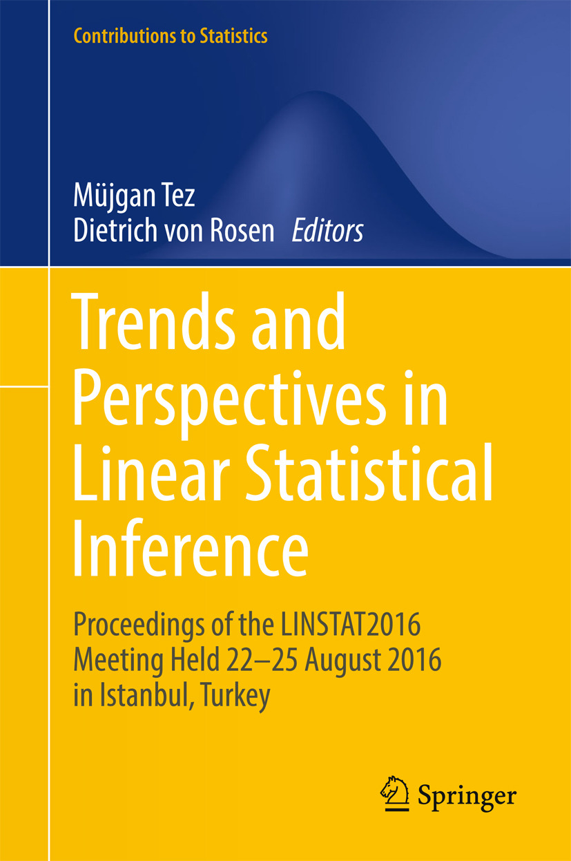 Rosen, Dietrich von - Trends and Perspectives in Linear Statistical Inference, ebook