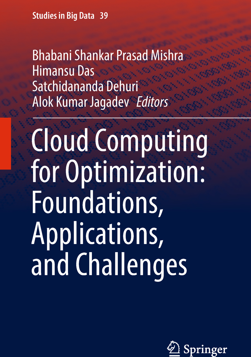Das, Himansu - Cloud Computing for Optimization: Foundations, Applications, and Challenges, ebook