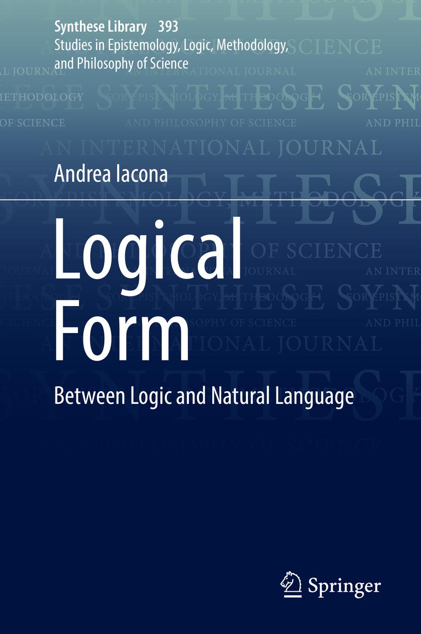 Iacona, Andrea - Logical Form, ebook