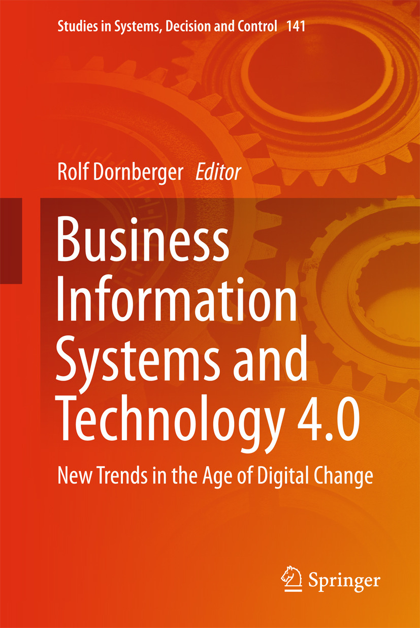 Dornberger, Rolf - Business Information Systems and Technology 4.0, ebook