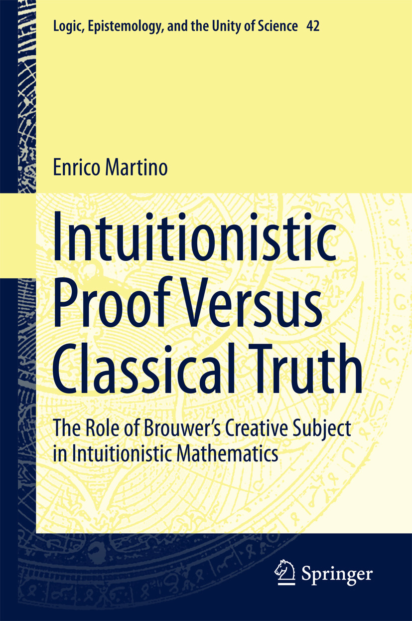 Martino, Enrico - Intuitionistic Proof Versus Classical Truth, ebook