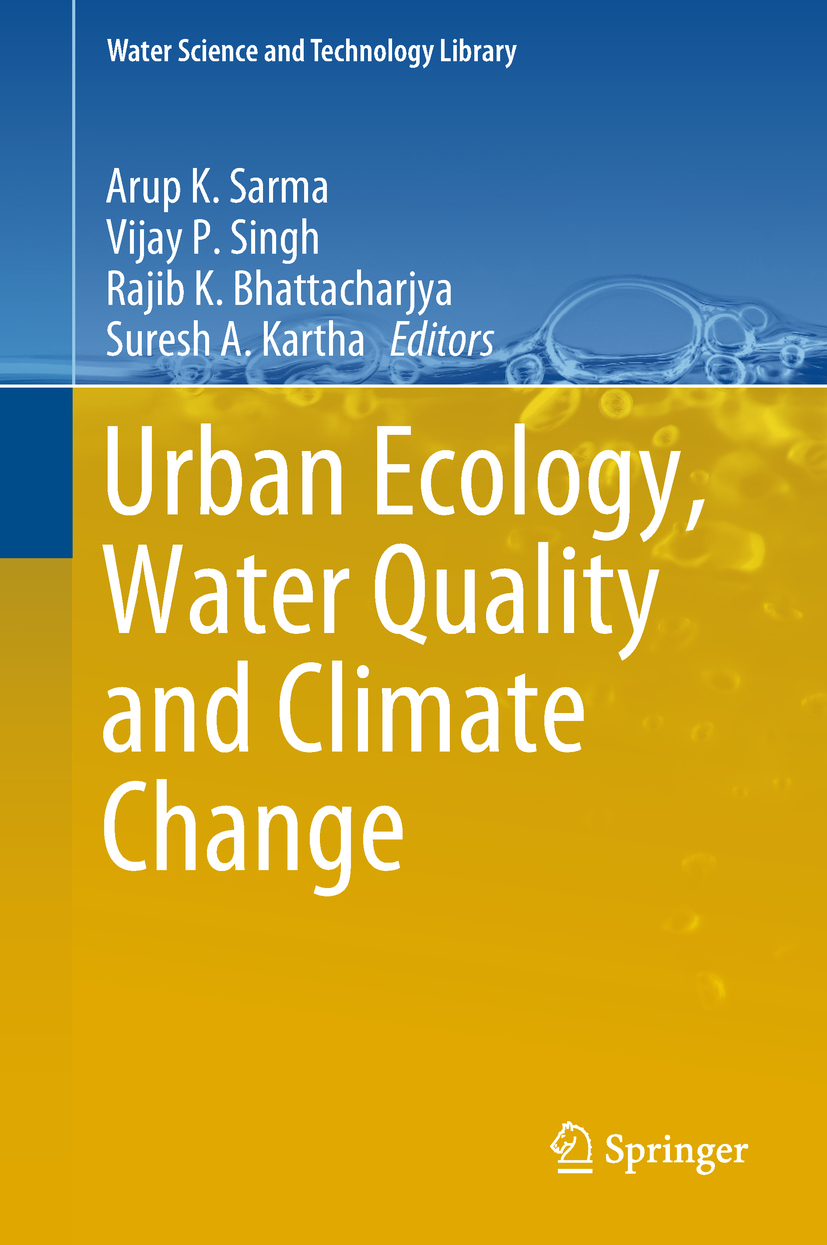 Bhattacharjya, Rajib K. - Urban Ecology, Water Quality and Climate Change, ebook