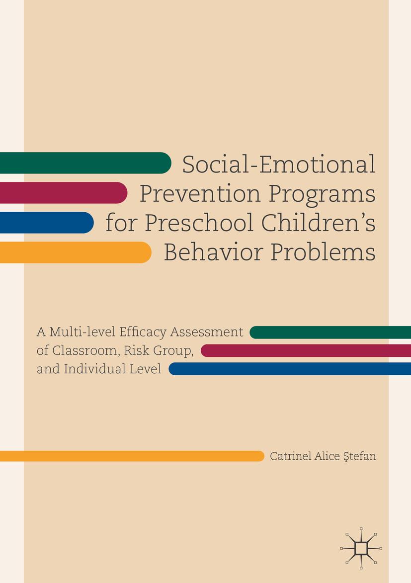 Ştefan, Catrinel Alice - Social-Emotional Prevention Programs for Preschool Children's Behavior Problems, ebook
