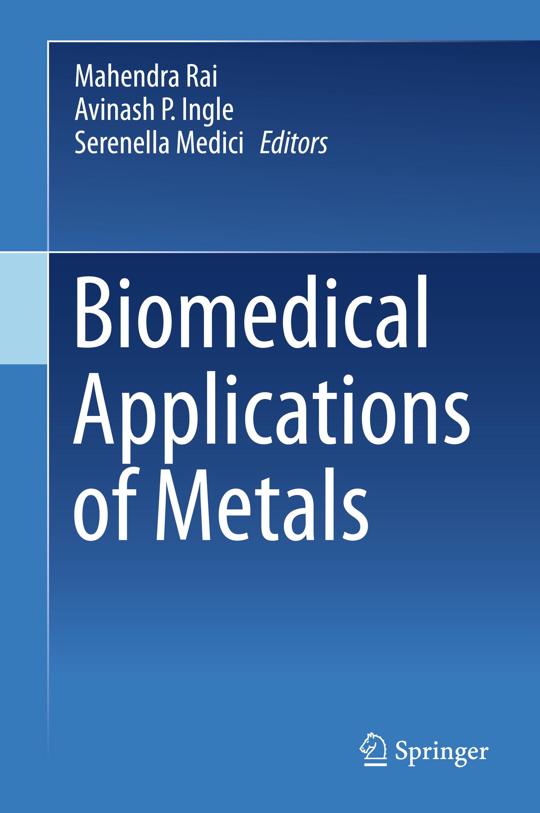 Ingle, Avinash P. - Biomedical Applications of Metals, ebook
