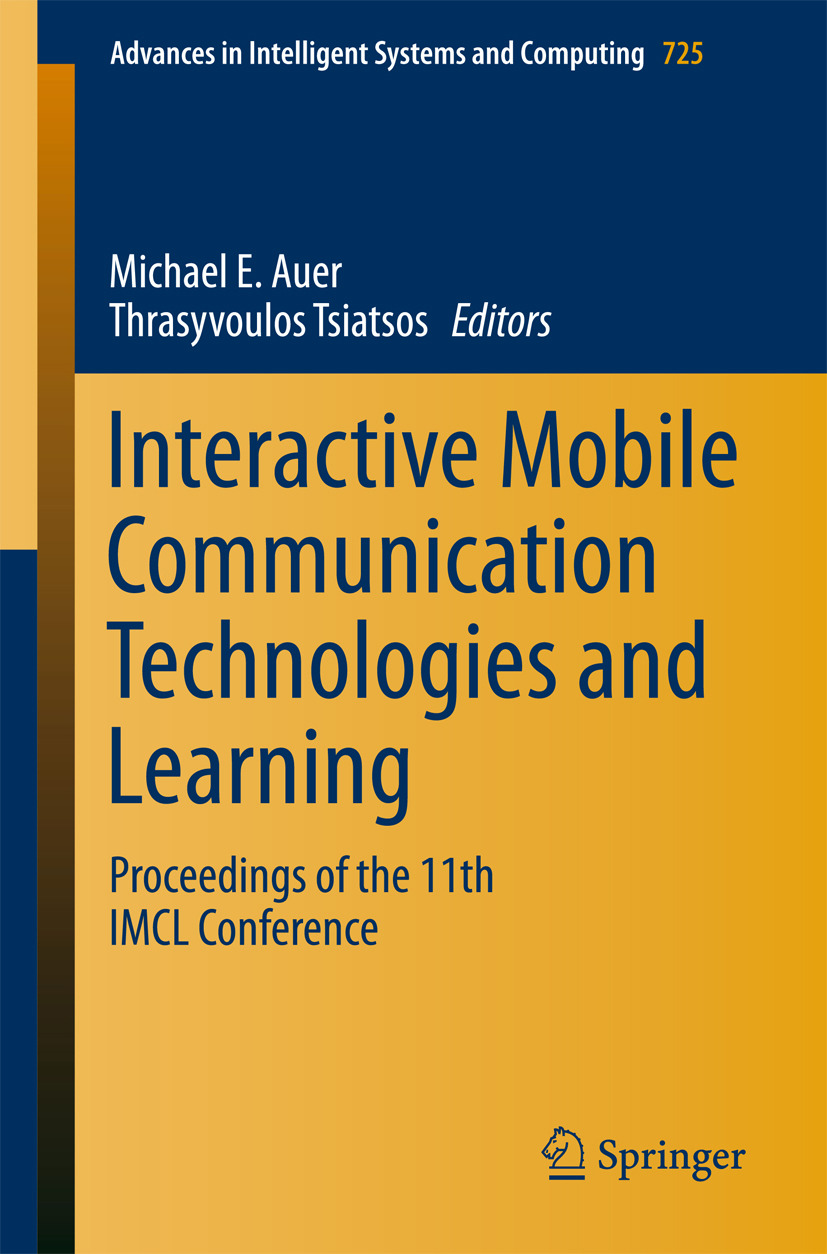 Auer, Michael E. - Interactive Mobile Communication Technologies and Learning, ebook