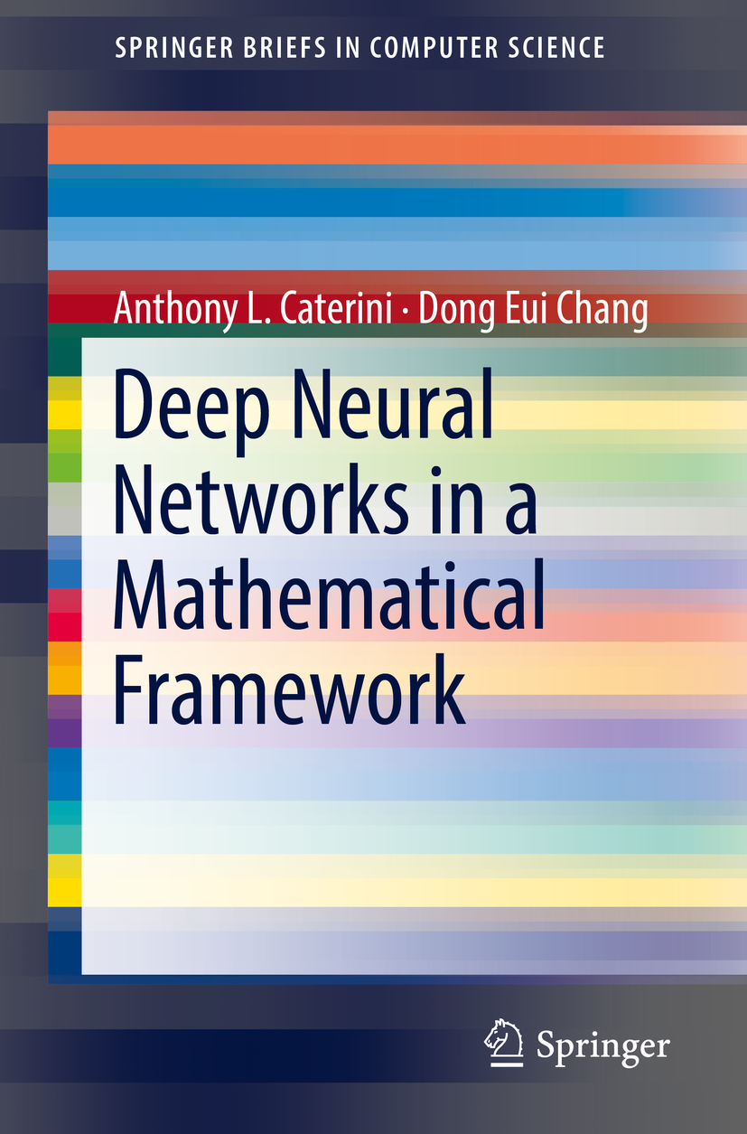 Caterini, Anthony L. - Deep Neural Networks in a Mathematical Framework, ebook