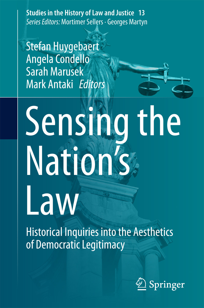 Antaki, Mark - Sensing the Nation's Law, ebook