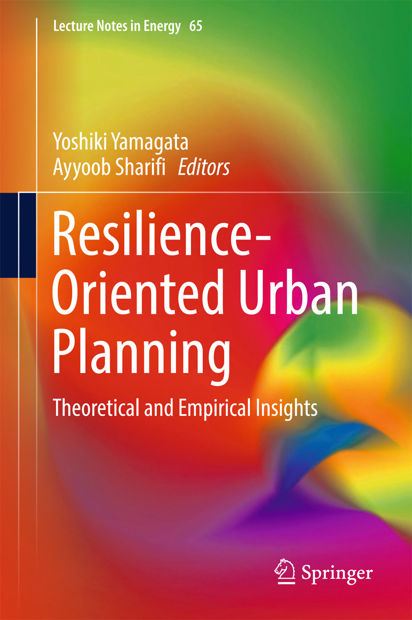 Sharifi, Ayyoob - Resilience-Oriented Urban Planning, ebook