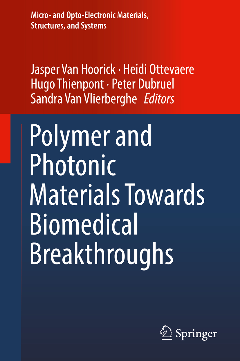 Dubruel, Peter - Polymer and Photonic Materials Towards Biomedical Breakthroughs, ebook