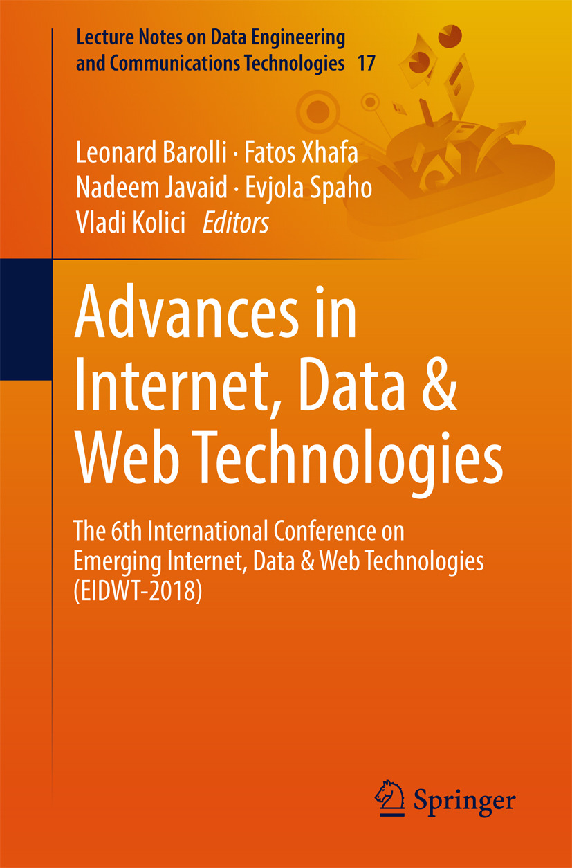 Barolli, Leonard - Advances in Internet, Data & Web Technologies, ebook