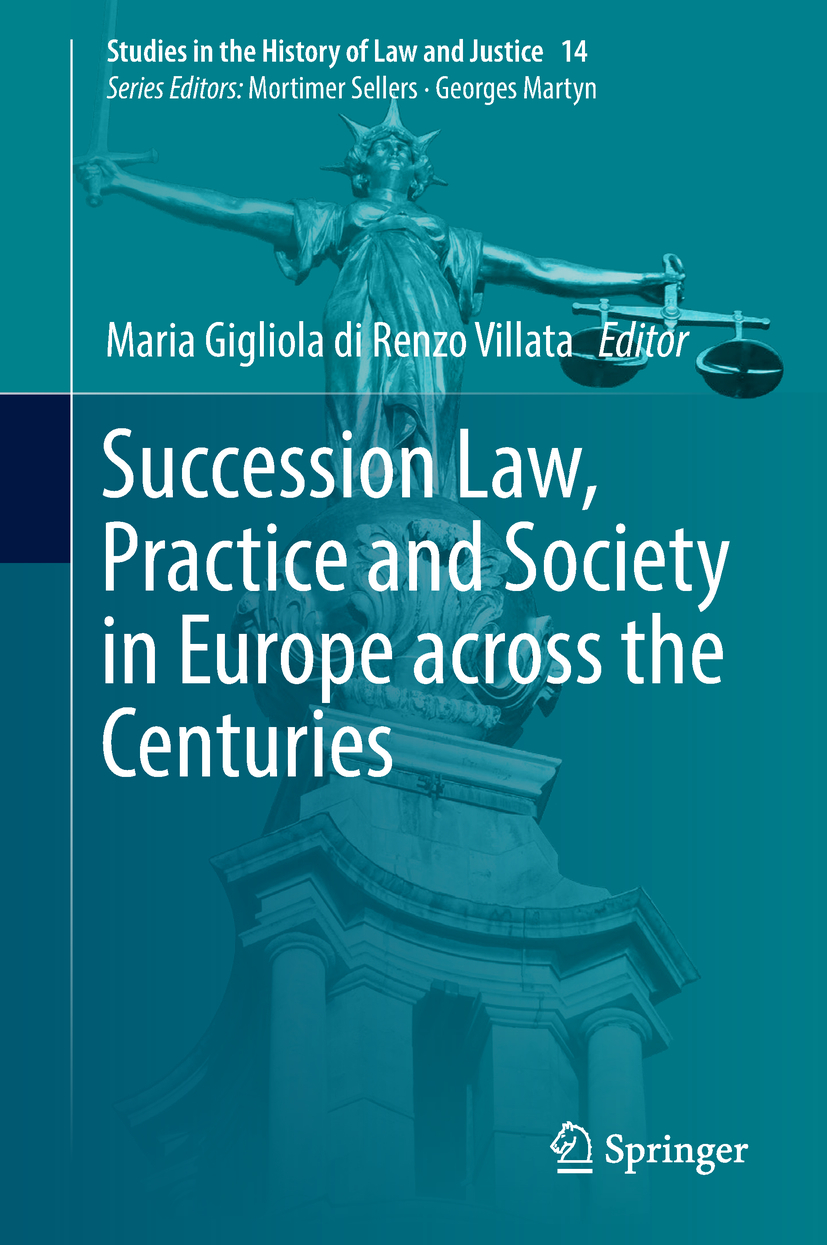 Villata, Maria Gigliola di Renzo - Succession Law, Practice and Society in Europe across the Centuries, ebook