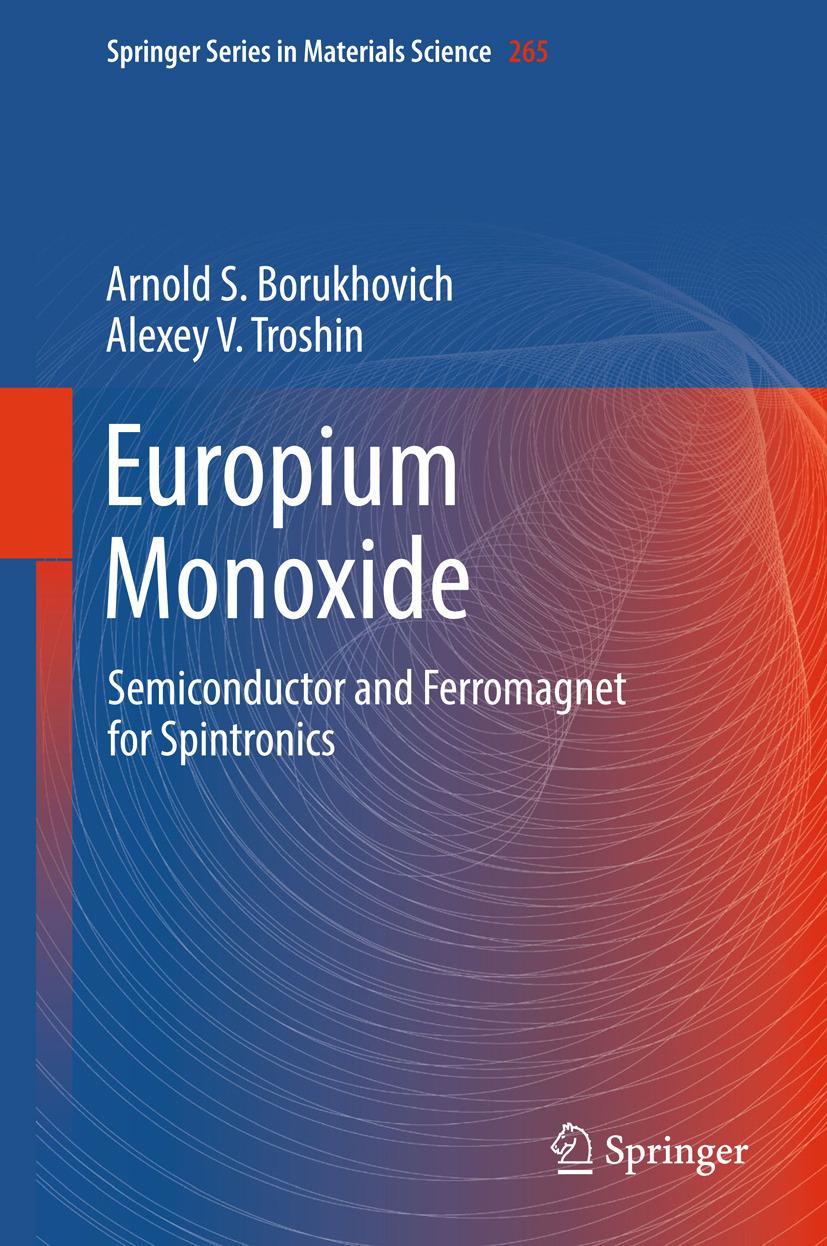 Borukhovich, Arnold S. - Europium Monoxide, ebook