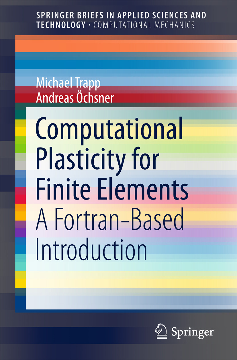 Trapp, Michael - Computational Plasticity for Finite Elements, ebook