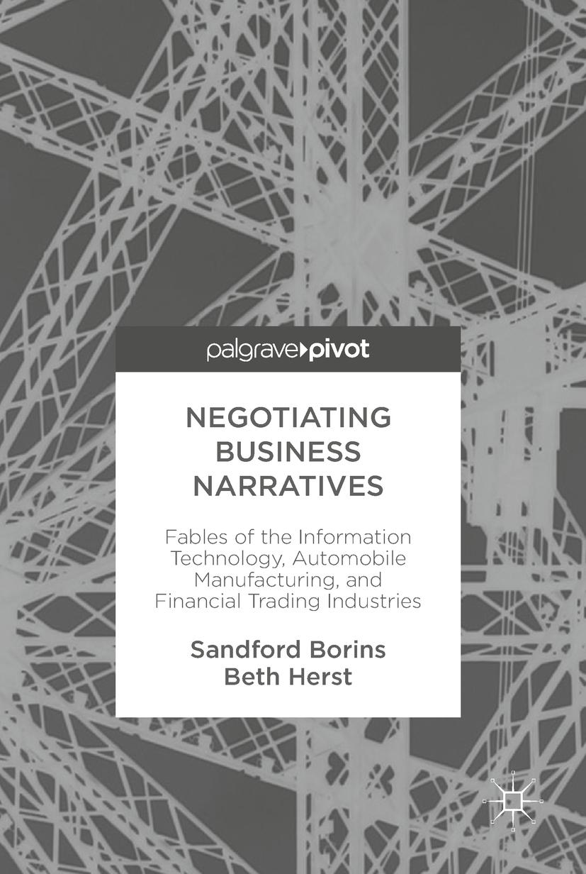 Borins, Sandford - Negotiating Business Narratives, ebook