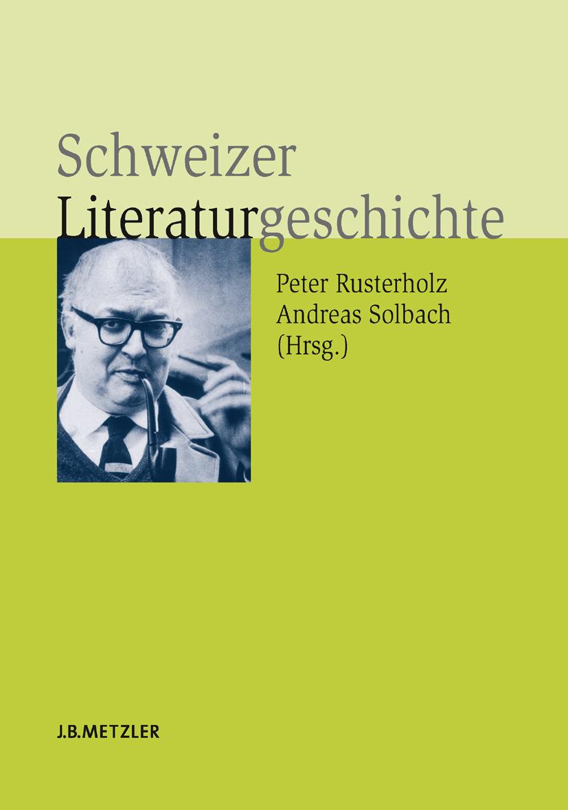 Brinker, Claudia - Schweizer Literaturgeschichte, ebook