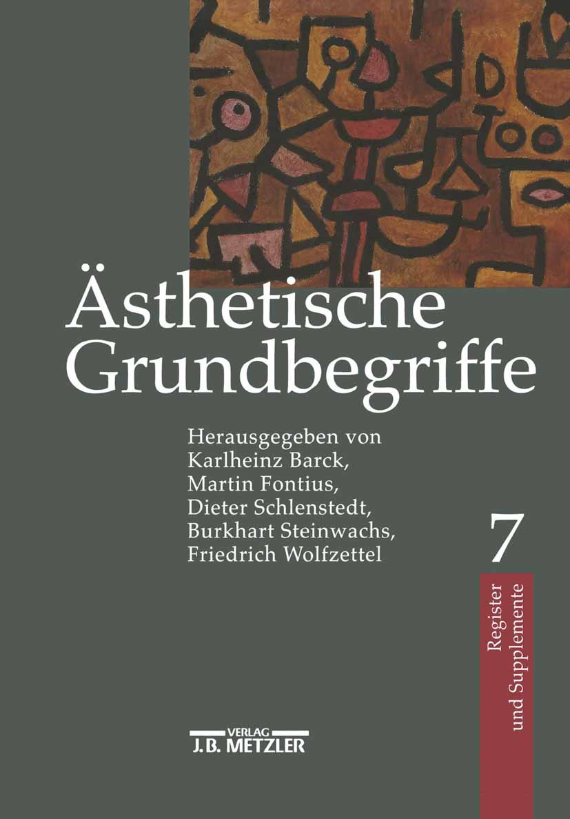 Barck, Karlheinz - Ästhetische Grundbegriffe, ebook