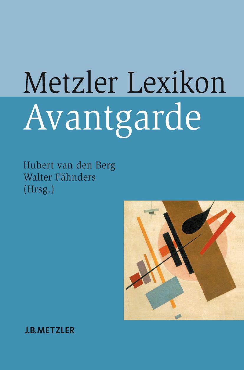 Berg, Hubert - Metzler Lexikon Avantgarde, ebook