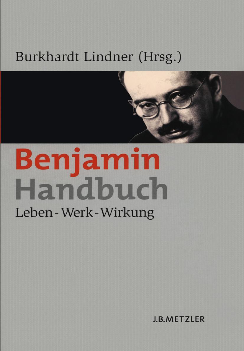 Lindner, Burkhardt - Benjamin-Handbuch, ebook